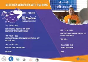 Meditation Workshops with Thai Monk in Iceland