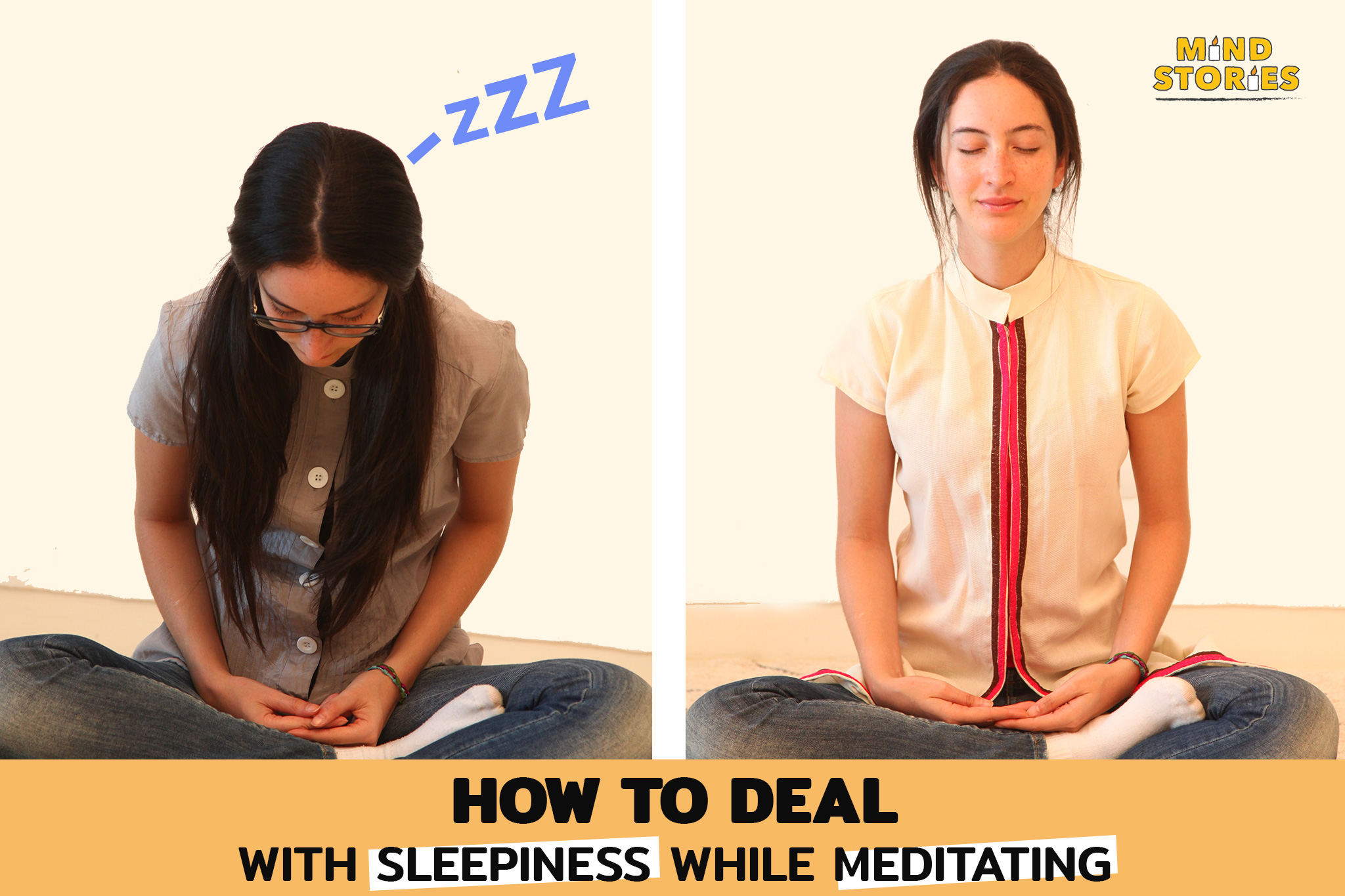 How to deal with sleepiness while meditating